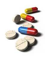 a selection of pills