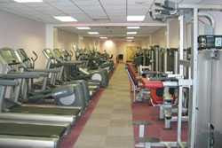 Wanstead Leisure Centre Gym - full of machines that USE rather than GENERATE electricity
