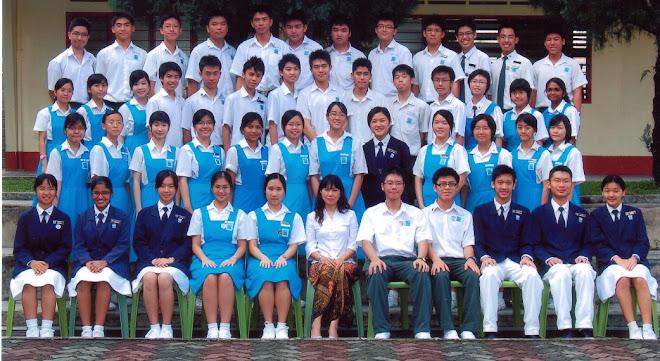 Class 5S5, 2007, CHS, Petaling Jaya.