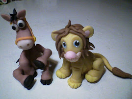 Caballito Toy story y Leon