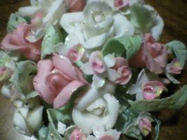 Todo tipo de flores en porcelana fria