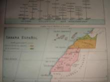 Mapa Sáhara Español