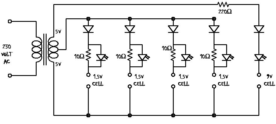 Electronics And Projects Ni Cad Battery Charger