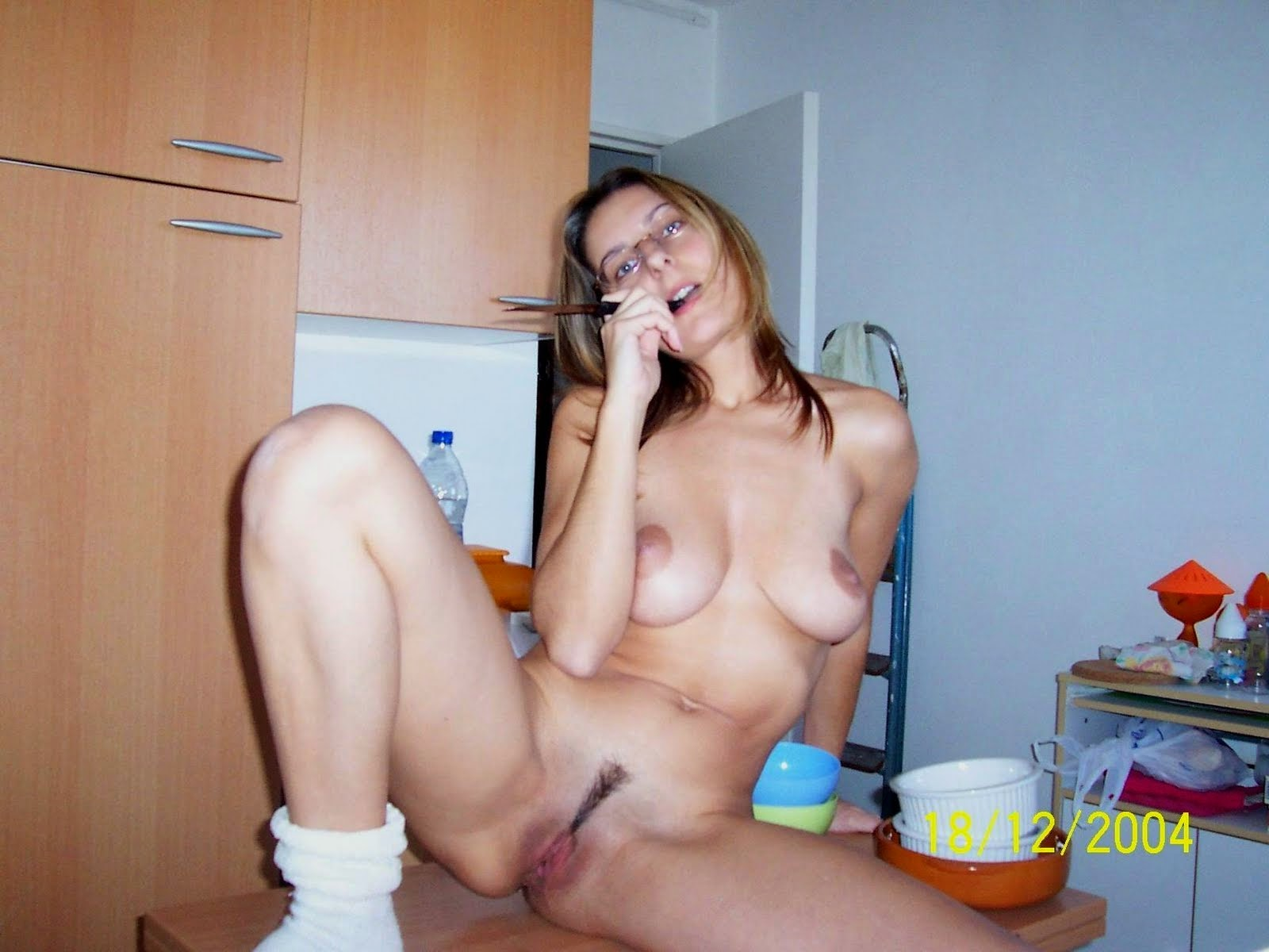 Nude self girl shot nerd