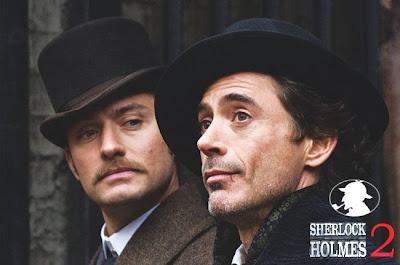 Sherlock Holmes 2 - O Filme será lançado em Dezembro do 2011