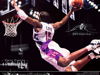 Showtime Vince Carter Wallpaper