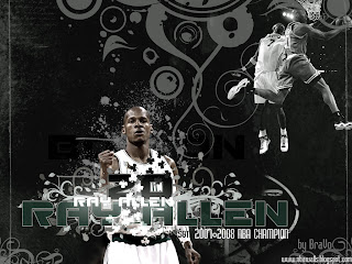 Ray Allen NBA Wallpaper
