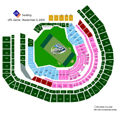 Ufl Citi Field Seating Chart And Ticket Prices