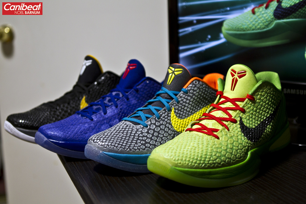 SNKROLOGY: A SOFT SPOT: First FOUR colorways of the Nike ... Kobe 8 All Colorways