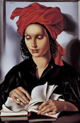 WOMEN READING, PAINTINGS