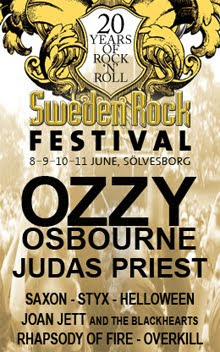 Whitesnake, Mr. Big y Buckcherry para el Sweden Rock Festival