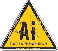 "PREMIO OTORGADO POR <a href=""http://alertainfo.blogspot.com/"">ALERTAINFO</a>"