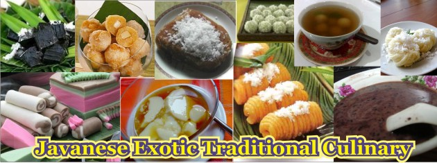Javanese Exotic Traditional Culinary