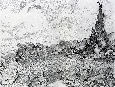 The Art Of The Landscape Van Goghs Approach To Drawing