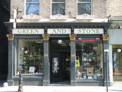 MAKING A MARK: Art shops in London - Green & Stone