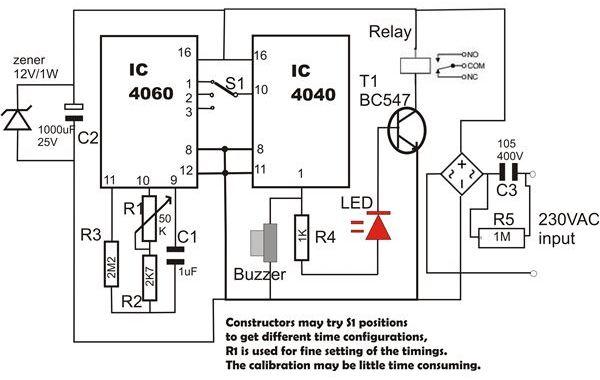 ne555 timer wiring diagram