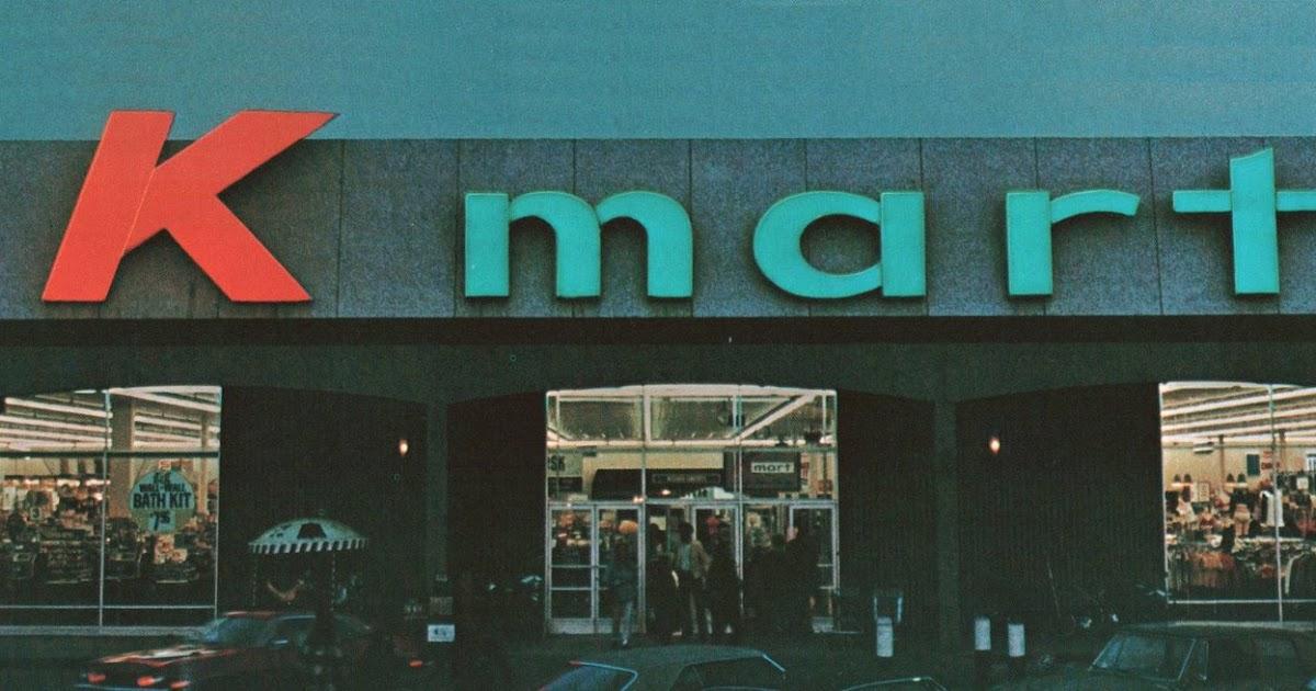 cd37841e20f Pleasant Family Shopping: Kmart - That 70's Store