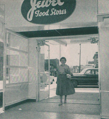 Pleasant Family Shopping Jewel Food Stores In The 1950 S