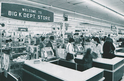 """5c7a037b95c44 Well, Big K, we hardly knew ye, and now you're leaving us again. That's  right, the many Kmart stores which for some not well-explained reason took  on the """" ..."""
