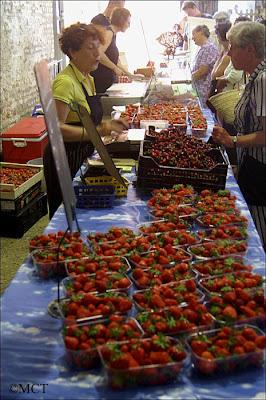 fraises et cerises du Tourteronnais