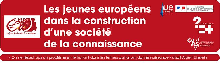 LES JEUNES  DANS LA CONSTRUCTION  D'UNE SOCIETE EU