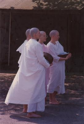 Young nuns at Amaravati