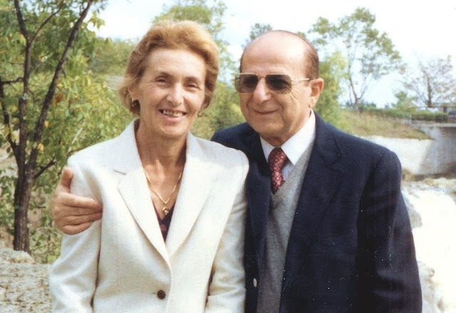 Lea & Jay Fiksel circa 1991, parents of Ayya Medhanandi
