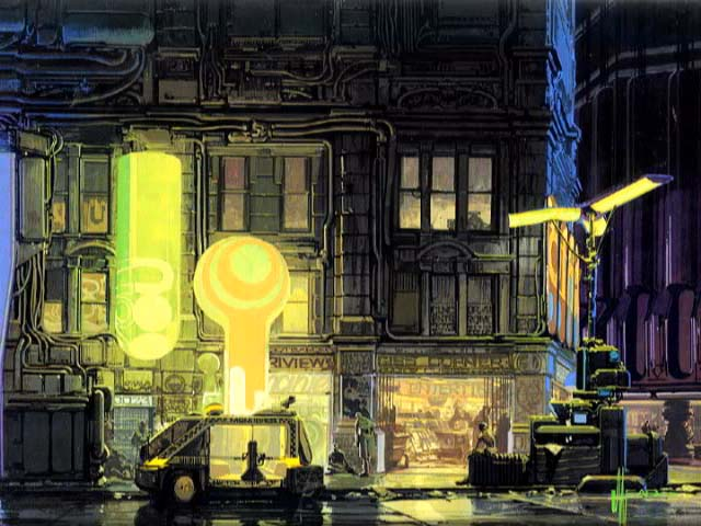 Films And The Eternal Nothingness Syd Mead Concept Designer