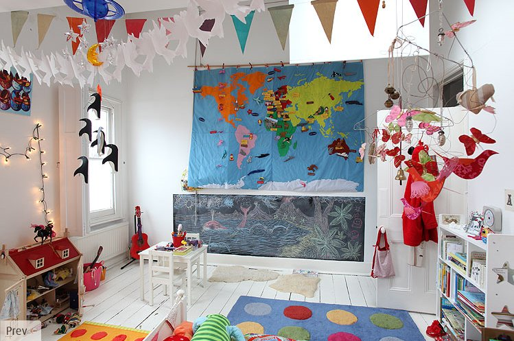 The Boo And The Boy Decorating With Maps In Kids Rooms