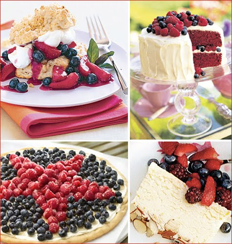 So Sweet Stationery: Fun 4th Of July Dessert Recipes