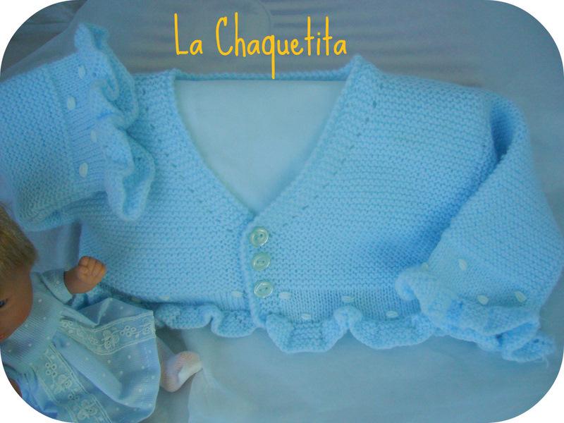 2454ced88 LA CHAQUETITA DE PUNTO  Chaqueta Bebé