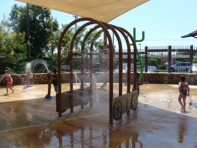 Water Play at Henry M Dotson Park Stanton