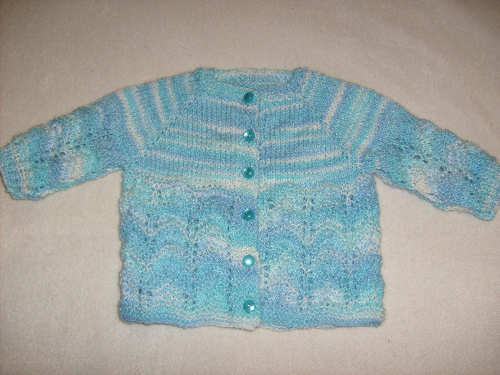 Tejer el arte de crear con tus manos chaleco bebe 0 3 meses - Tejer chaqueta bebe 6 meses ...
