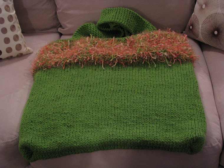 one of my knitting projects