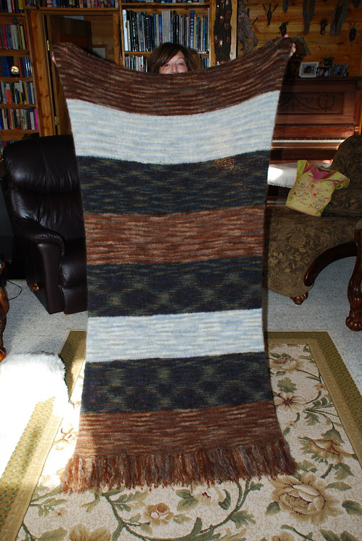 knitted blanket for husband