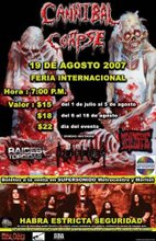 Cannibal Corpse En El Salvador