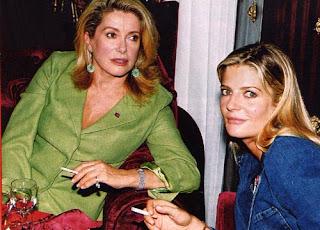 my student life: Catherine Deneuve and Chiara Mastroianni