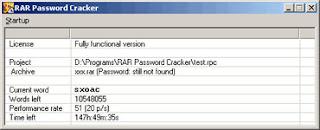 RAR Password RAR Password Cracker