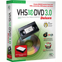 vhs Honestech   VHS To DVD Deluxe