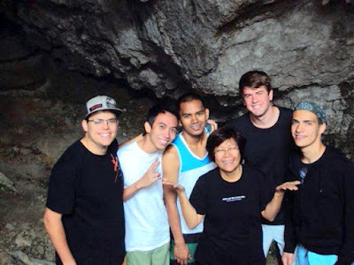 Sumaging Cave, Sagada, Mountain Province, Spelunking with Up With People