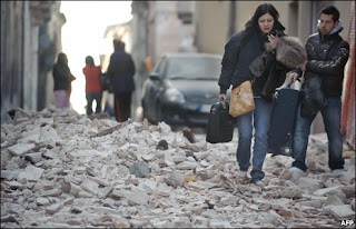 Italy earthquake, earthquake, tragedy, alquila, rome, april 5 2009, enjayneer, news, breaking news, death, Silvio Berlusconi, state of emergency, richter, magnitude, government, italian, L'Aquila, Abruzzo, Rome