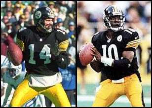 Neil O'Donnell, Kordell Stewart, Steelers quarterbacks 1990's