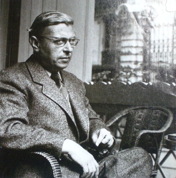 The logical contradiction of jean paul sartre