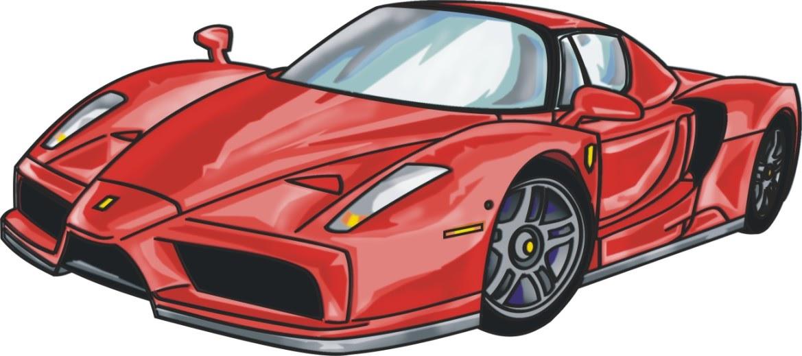 737eee5f6ad cria arte  Ferrari Enzo Cartum