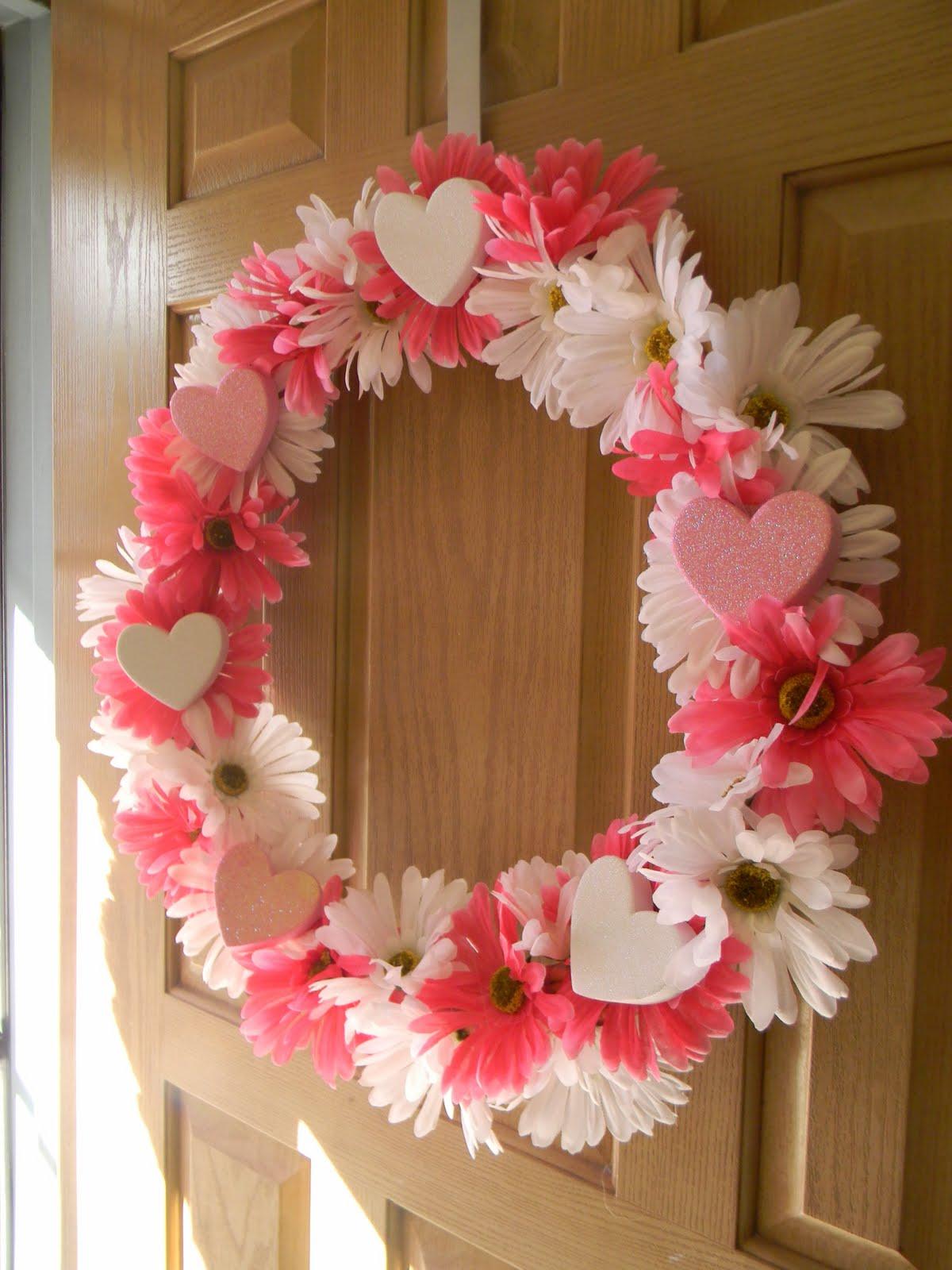 Valentines By Kylie Cosmetics: Simply Crafty: Valentine Wreath
