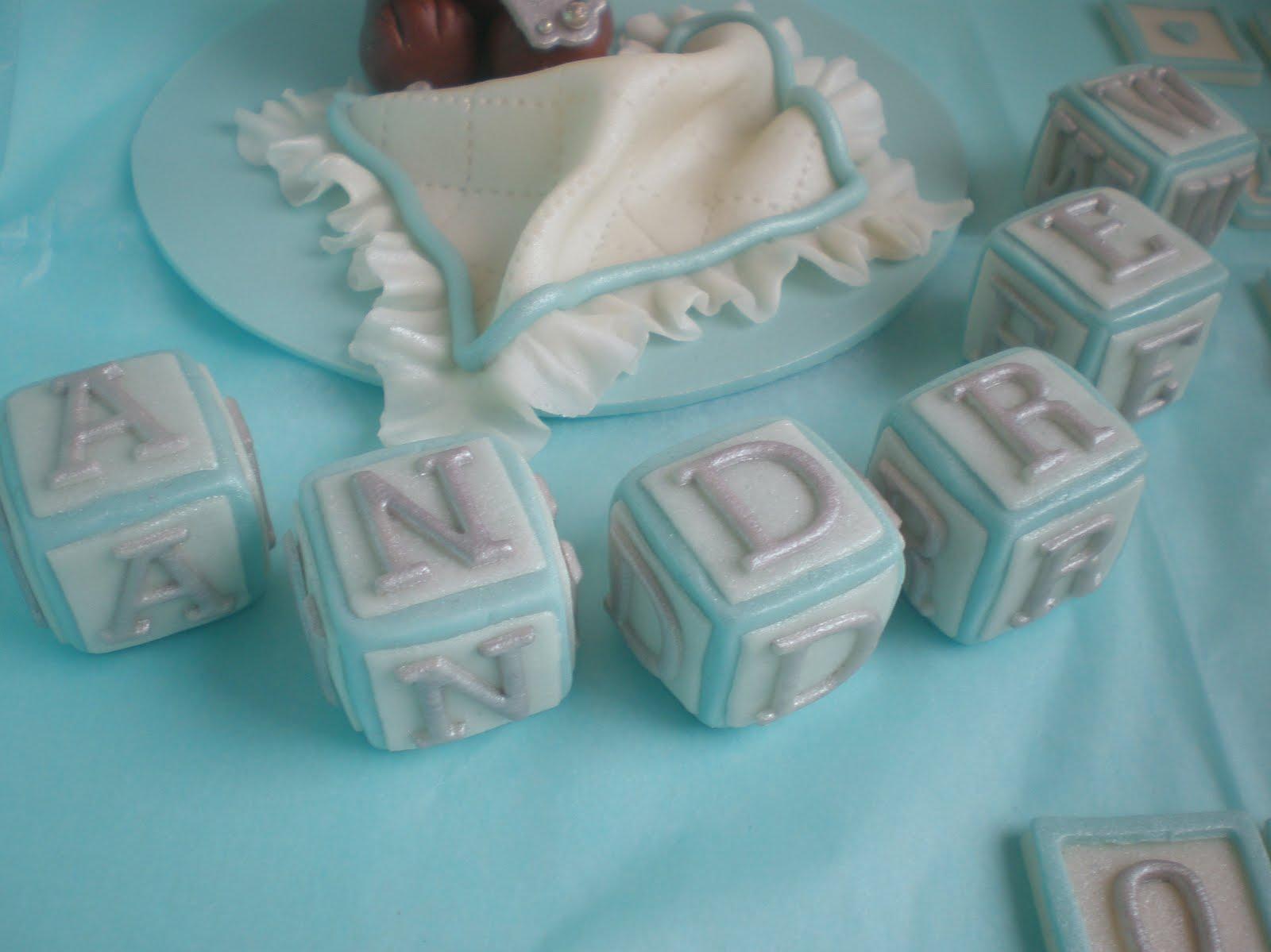 Sugar Siren Cakes Mackay Boys Christening Cake Decorations