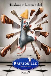 Ratatouille poster courtesy Impawards