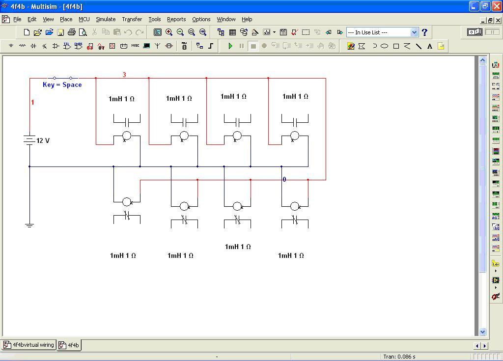Relay Circuit In Multisim