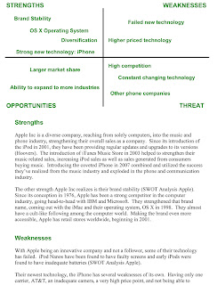swot for apple computer Apple computers- swot analysis apple is a giant it industry, specialized in manufacturing sophisticated electronic goods like laptops, desktops, mobile phones, music players and gadgets that are mostly used by consumers of all ages and segments.