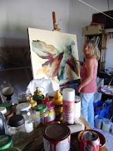 Schildersatelier-O meu atelier